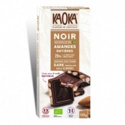 CHOCOLAT NOIR 66% AMANDES 180G