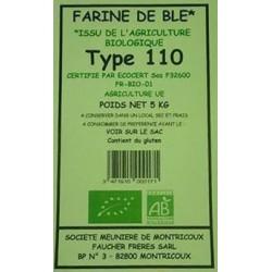 FARINE BLE T110 5KG MOULIN BIO
