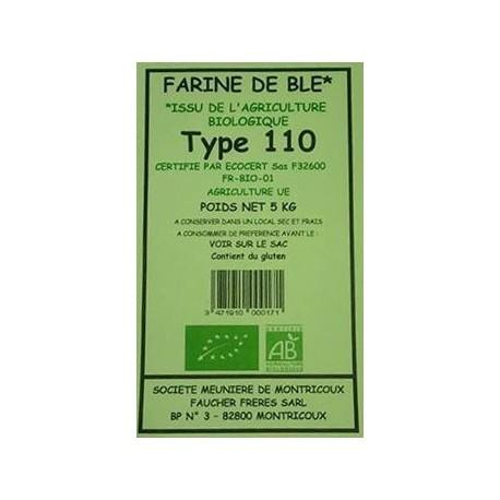 FARINE BLE T110 5KG MOULIN