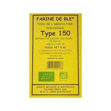 FARINE BLE T150 5KG MOULIN