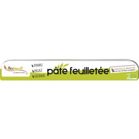 PATE FEUILLETEE 230G CREALES COMPLETES BIO BLEUD
