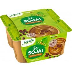 DESSERT SOJA CAFE 4 X 100 G