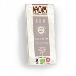 CHOCOLAT NOIR 70% 100G EQUIT. KAOKA