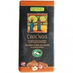 CHOCOLAT LAIT NOISET.ENT.100G MDM