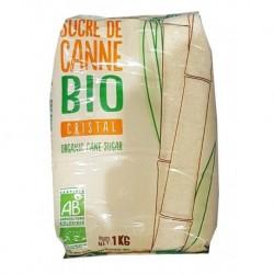 SUCRE CANNE MI-BLANC BRESIL 1KG BIO
