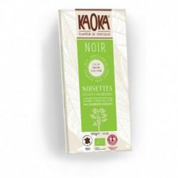 CHOCOLAT NOIR 66% 100G NOISETTES CARAMELISEES