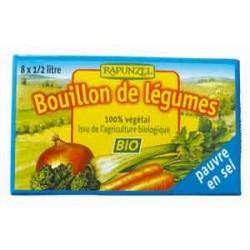 BOUILLON CUBE PAUVRE EN SEL 8X 1/2L