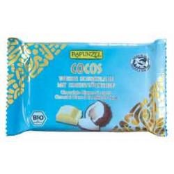 CHOCOLAT BLANC/NOIX COCO 100G