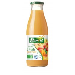 JUS 3 FRUITS DES VERGERS FRANCE 75CL