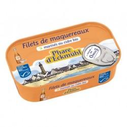 A.FILETS MAQUEREAUX* MARINES CIDRE BIO 118G