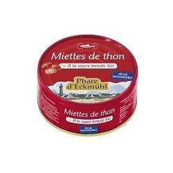 MIETTES DE THON LISTAO* A LA TOMATE BIO 160G
