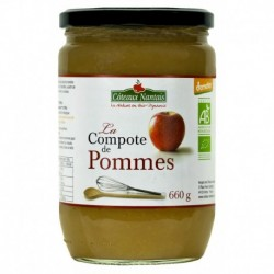 COMPOTE POMME 660G DEMETER COT NAN