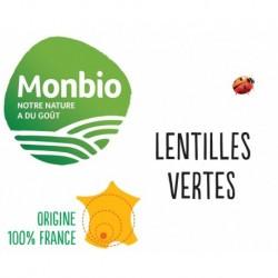 LENTILLES VERTES MONBIO AB 5KG