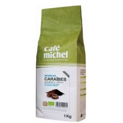 A.CAFE GRAINS MELANGE CARAIBES 1KG