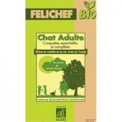 CROQUETTES CHAT ADULTE 2KG FELICHEF FRANCE