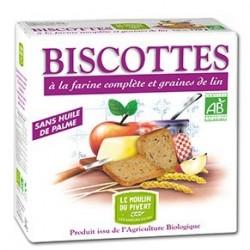 BISCOTTES COMPLETES GRAINES DE LIN 270G