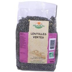 N.LENTILLE VERTE 500G FRANCE PRIMEAL