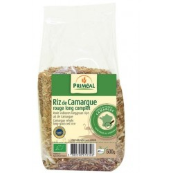 RIZ ROUGE CAMARGUE 500G FRANCE IGP BIO SOLIDAIRE