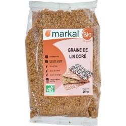 GRAINE LIN DOREE 250G MARKAL