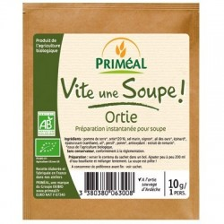 POTAGE ORTIE 10G PORTION INDIVIDUELLE INSTANTANEE