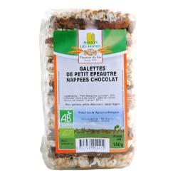 GALETTES DE PETIT EPEAUTRE NAPPEES CHOCOLAT 150G