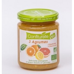CONFITURE SS 3 AGRUMES 290G CONFIT PROVENCE