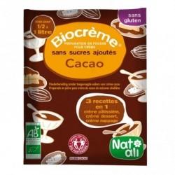BIOCREME CHOCOLAT 45G NON SANS SUCRE EQUITABLE