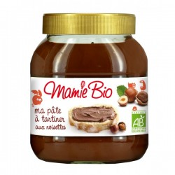 PATE A TARTINER NOIS.CACAO 750G MAMIE BIO
