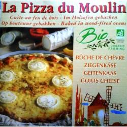 PIZZA BUCHE DE CHEVRE DU MOULIN