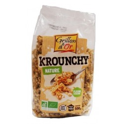 S.KROUNCHY NATURE 500G GRILLON AB
