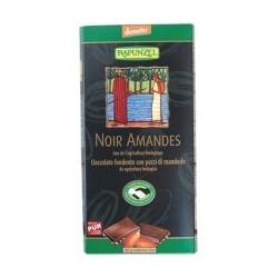 CHOCOLAT NOIR AMANDES 80G DEME.MDM