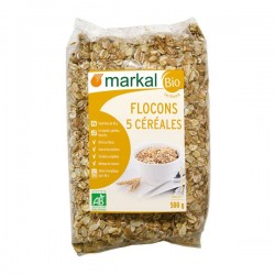 S.FLOCONS 5 CEREALES 500G