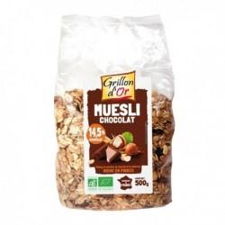 MUESLI CHOCOLAT NOIR 500G