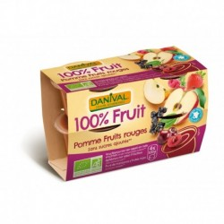 QUADRETTE POM-FRUITS ROUGES 4X100G SSUC