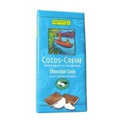 CHOCOLAT LAIT FOURRE CREME COCO 100G