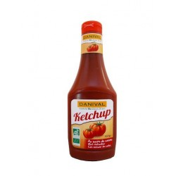 KETCHUP SOUPLE SUCRE CANNE 560G