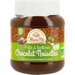 S.PATE A TARTINER CHOCO NOISETTE SS GLUTEN SS LACTOSE EQUITABLE 350G