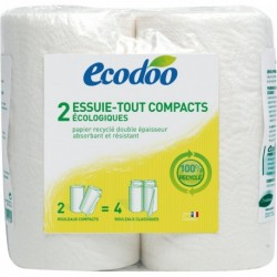 ESSUIE-TOUT COMPACT 2 ROULEAUX 100% RECYCLE