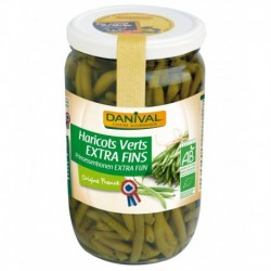 HARICOTS VERTS EXTRA FINS 660G FRANCE