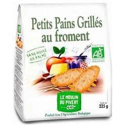 PETIT PAIN GRILLE FROMENT 225G SANS H.PALME
