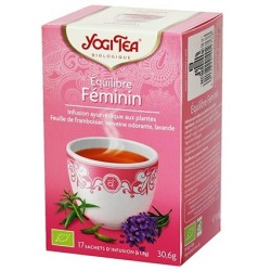 YOGI TEA EQUILIBRE FEMININ 17 SACHETS