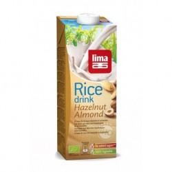 BOISSON RICE DRINK RIZ NOISETTE AMANDE 1L