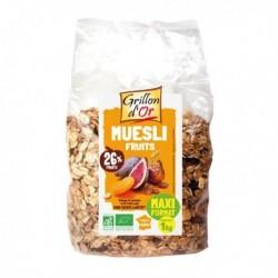 MUESLI FAMILIAL FRUITS SECS 1KG