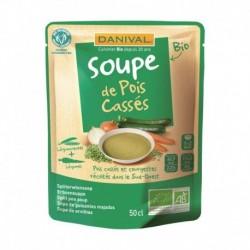 SOUPE POIS CASSES 50CL DANIVAL