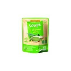 SOUPE 5 LEGUMES VERTS 50CL DOYPACK