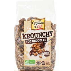 KROUNCHY TOO CHOCOLAT 500G GRILLON OR