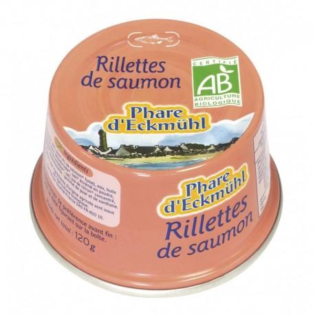 RILLETTES DE SAUMON* 120G