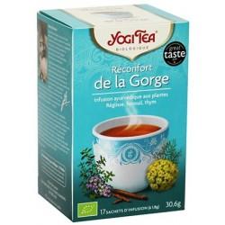 YOGI TEA AYURVEDA RECONFORT DE LA GORGE 17 SACHETS