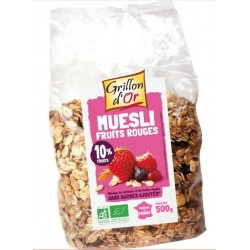 MUESLI FRUITS ROUGE 500G GRILLON
