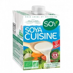 CREME SOYA CUISINE 50CL ECO SOJA FRANCAIS SANS OGM
